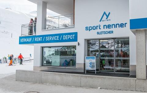Skiverleih Hintertux/Tux - Sport Nenner Gletschershop