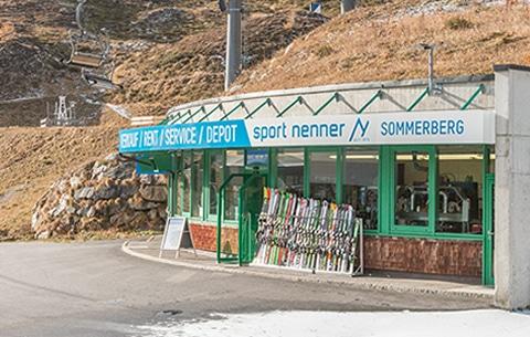 Skiverleih Hintertux/Tux - Sport Nenner Sommerbergshop