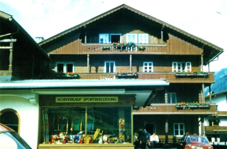 Skiverleih Hintertux/Tux - 1973-Beginn Sportstall