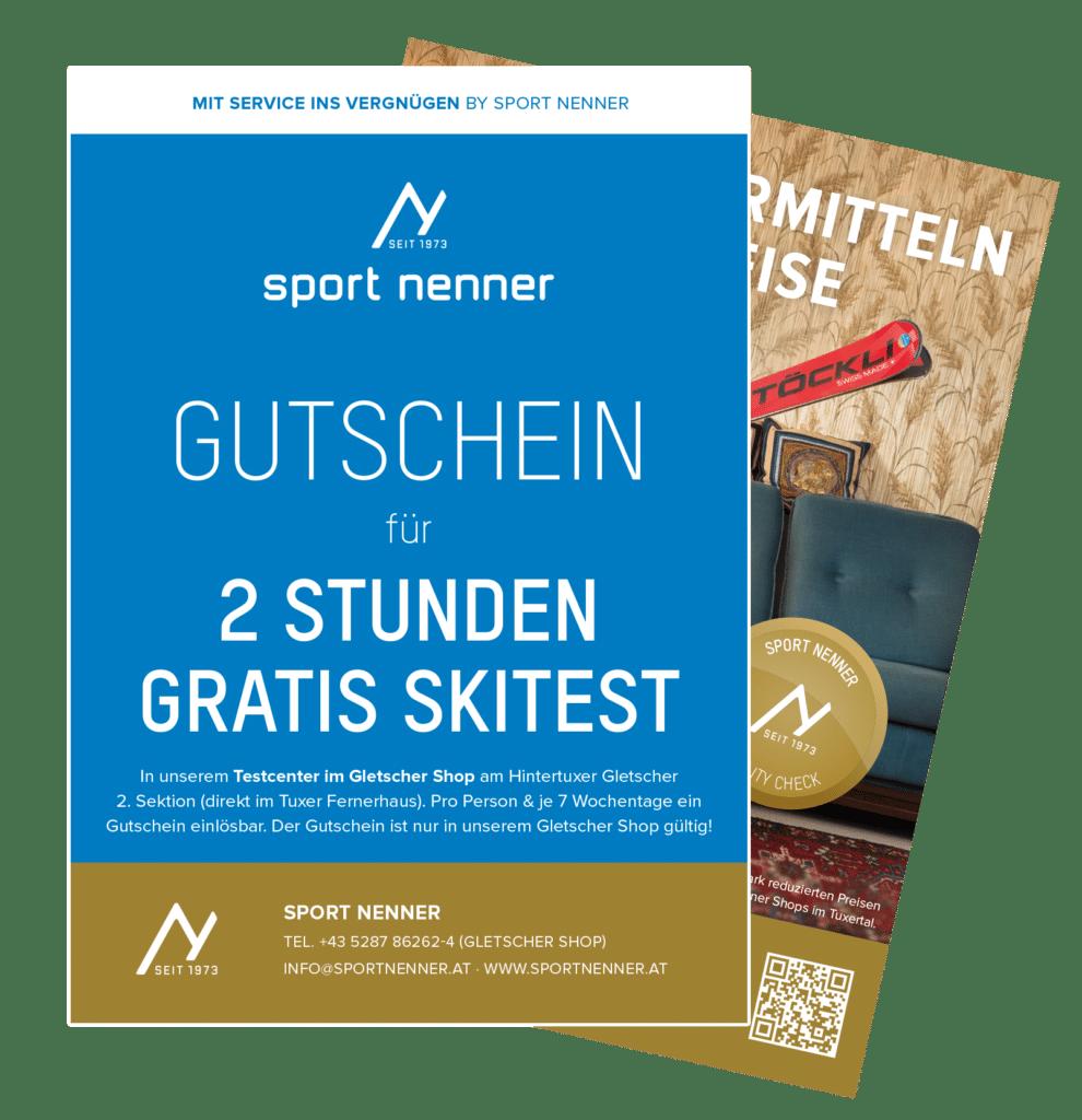 Ski-TestcenterSki-Testcenter in Hintertux/Tux - Sport Nenner Gletschershop