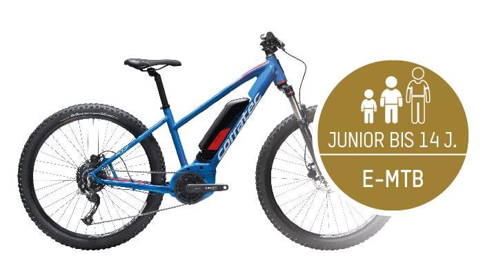 Bikeverleih Hintertux/Tux - Bild Jugend E- Mountainbike Verleih